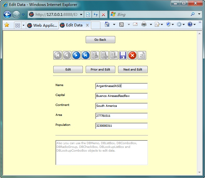 Longtion Application Builder screenshot