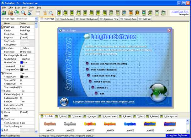 Click to view AutoRun Pro Enterprise 12.0.4.132 screenshot