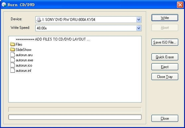 بوابة بدر: برنامج اسطوانات ذاتية الاقلاع Longtion AutoRun Enterprise 13.1.0.351,2013 burner.jpg