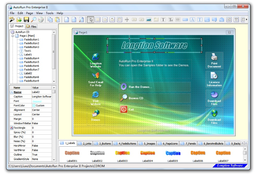 Click to view AutoRun Pro Enterprise II 6.0.6.162 screenshot